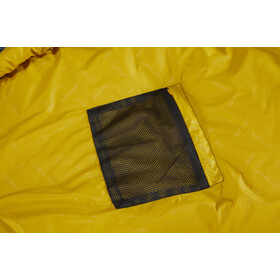 Nordisk Puk +4° Egg Sacos de dormir XL, true navy/mustard yellow/black